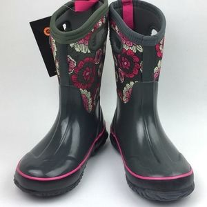 Bogs Classic Pansies Insulated Waterproof …